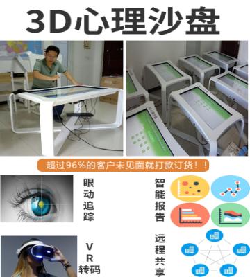 3D心理沙盘